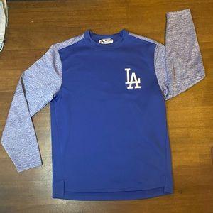 NWOT majestic LA Dodgers long sleeve shirt - M